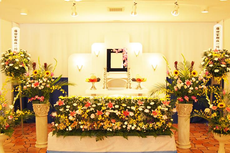 家族葬のフローラルホール城東 内観1