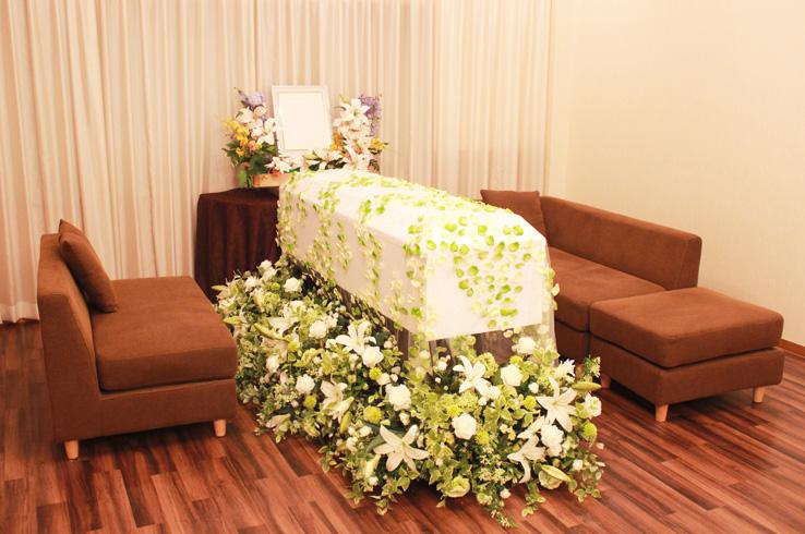家族葬のフローラルホール枚方会館 内観1
